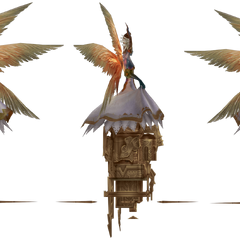 <i>Final Fantasy XII</i> model.