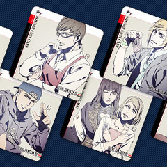 Square Enix Cafe coasters.