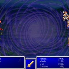 Warp cast on all enemies in <i><a href=