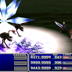 Ice3 used against all enemies in <i><a href=