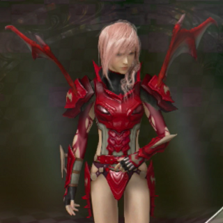 The Dragon's Blood outfit, designed by Matsuda.