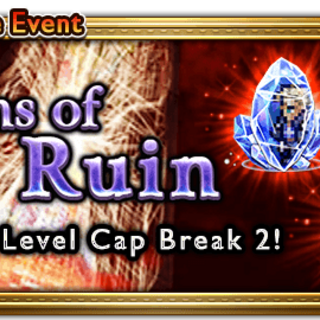Global event banner for Rains of Ruin.
