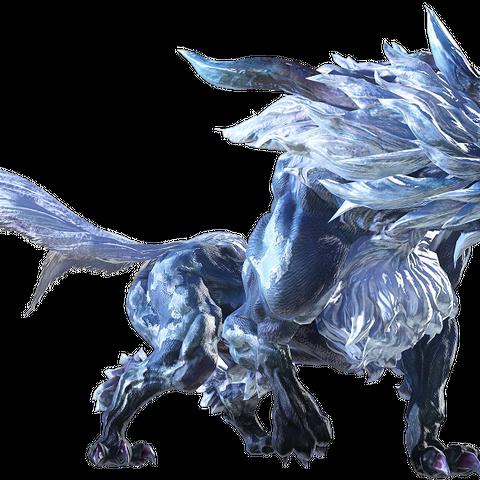 Fenrir in <i>Final Fantasy XIV</i>.