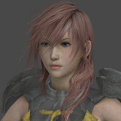 Lightning's in-game render.