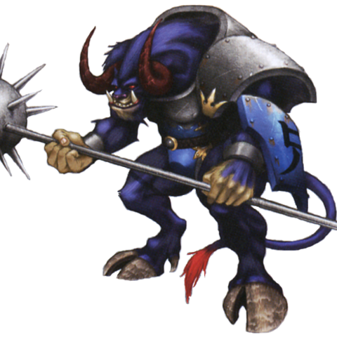 Artwork of Minotaur.