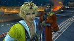 FFX HD Tidus and Auron in Zanarkand