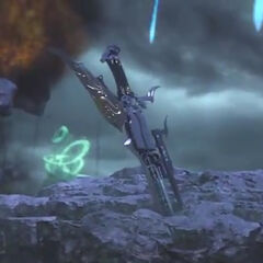 Gunblade in-game in <i><a href=