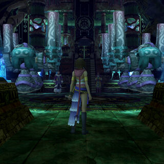 Kilika temple in <i>Final Fantasy X-2</i>.