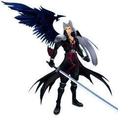 Sephiroth <i>Kingdom Hearts</i> CG model.