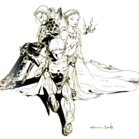 Bartz, Lenna and Faris.