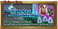 FFRK The Princess and the Pirate Event