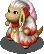 FFTS Nu Mou White Mage Sprite