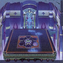 Artwork of the interior.