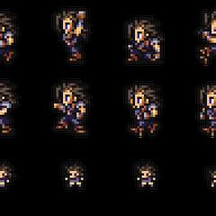 Set of Zack's sprites.