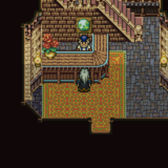 South Figaro's Relic shop (GBA).