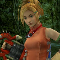 Rikku obtains the Godhand.