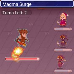 Magma Surge.