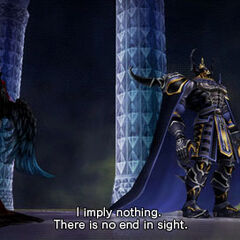 Ultimecia speaking with Golbez.