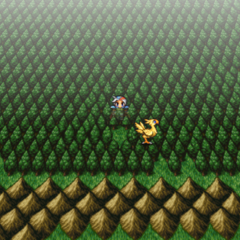 Chocobo Forest on the world map in <i><a href=