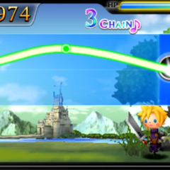 Baron Castle in <i>Theatrhythm</i>.