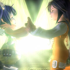 Eiko and Garnet.