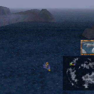 The dive location for Zidane's Ultima Weapon.