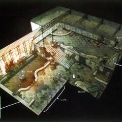 Bathhouse concept.