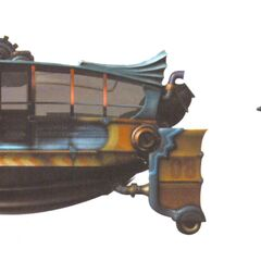 Concept artwork of the air cab.