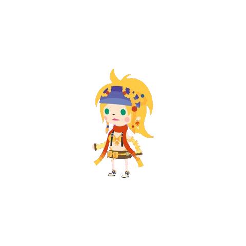<i>Final Fantasy X-2</i> Rikku.