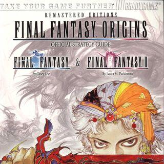 <i>Final Fantasy Origins</i> cover.