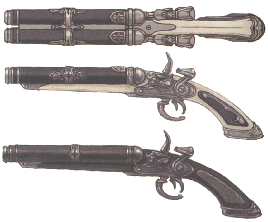 ffxv machine weapons