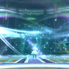 Guard Stick made of light appears during the Healing Wind Limit Break in <i><a href=