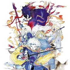 Illustration for <i>Final Fantasy IV Complete Collection</i>, by <a href=