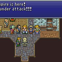 Narshe guard confirming Locke's warning.