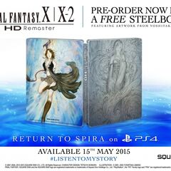 PS4 European pre-order bonus (steelbook).