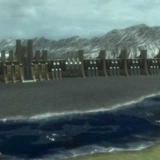 The Militesi-Rubrum border.