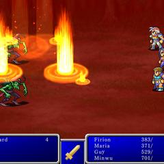 Fire III from <i>Final Fantasy II</i> (iPod).