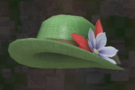 LRFFXIII Green Straw Hat