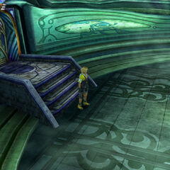 Temple Hall in <i>Final Fantasy X</i>.