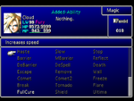 FFVII Magic Menu 2