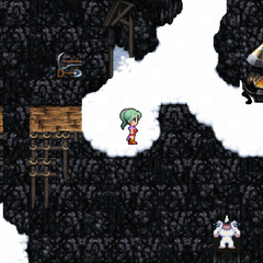 Umaro appears in Narshe Mines (iOS/Android/PC).
