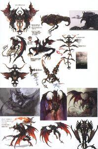Fal'Cie Diabolos FFXIII Concept Art