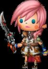 Lightning dans Theatrhythm Final Fantasy