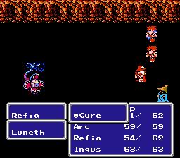 File:FFIII NES Cure.png