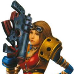 Yuna as an Alchemist.