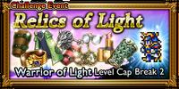 FFRK Relics of Light Event