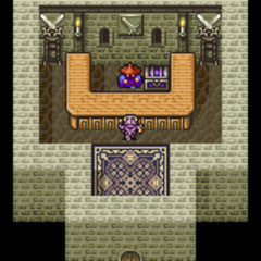 Mysidia's weapon shop (GBA).