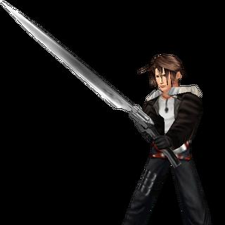 In-game battle model from <i>Final Fantasy VIII</i>.