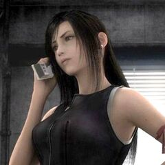 Tifa in <i>Advent Children</i>.