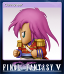 FFV Steam Card Cannoneer